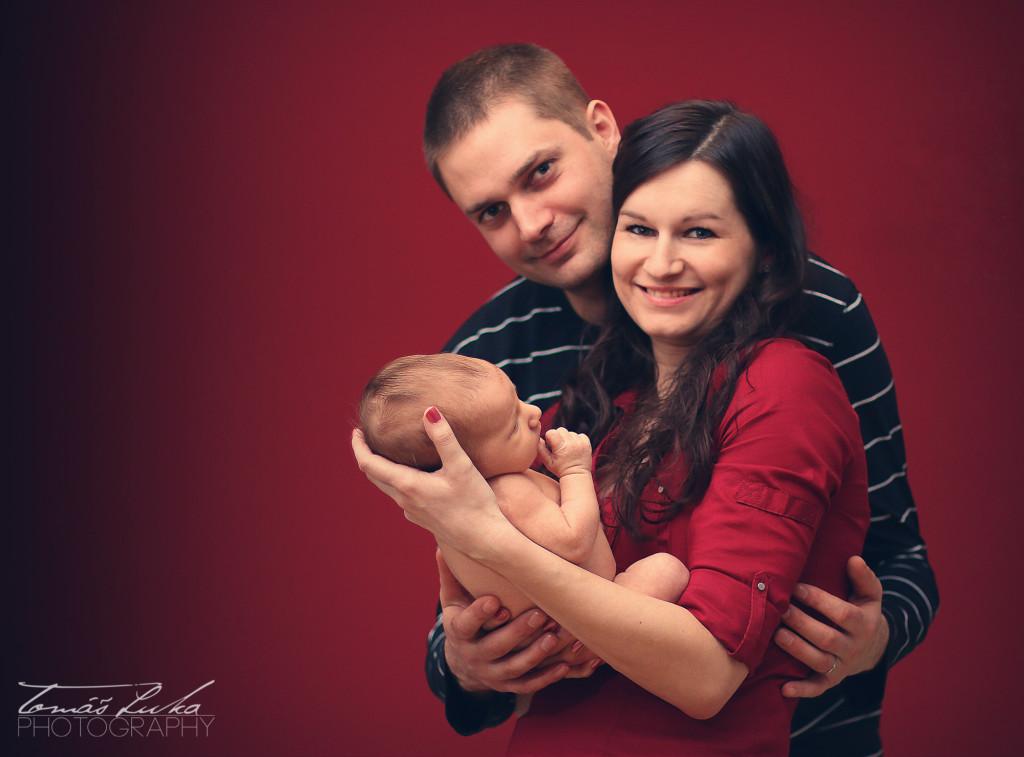 Šťastná rodina - domácí focení