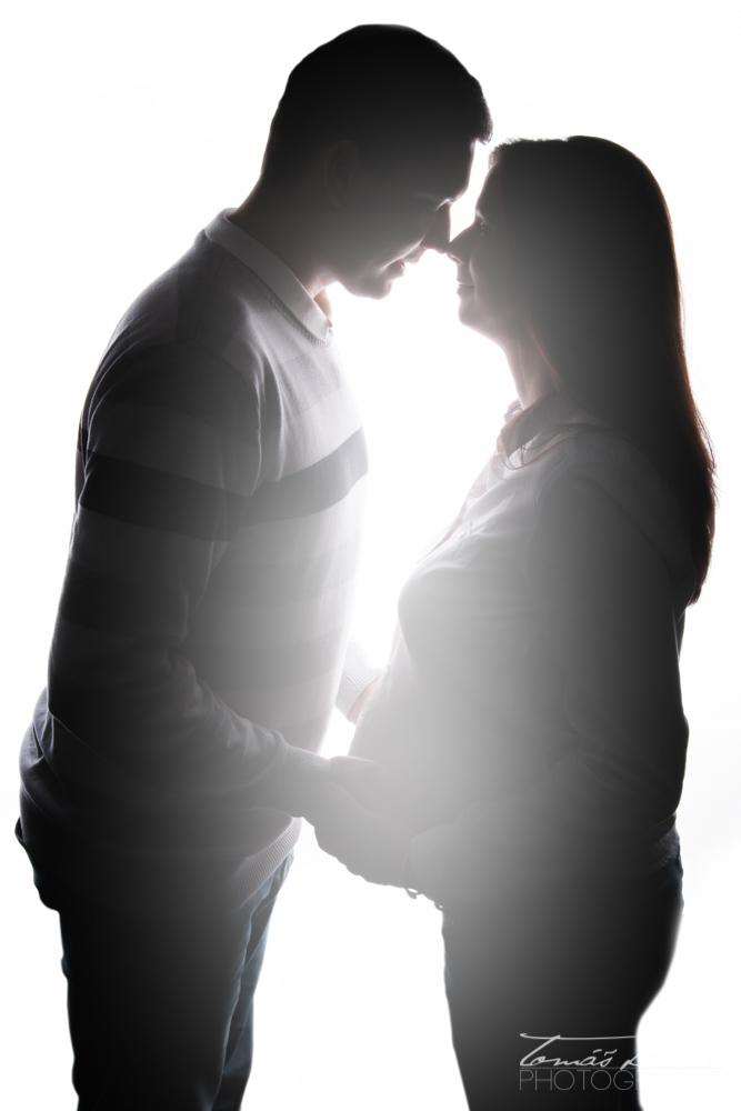 Budoucí rodiče - těhotenské focení