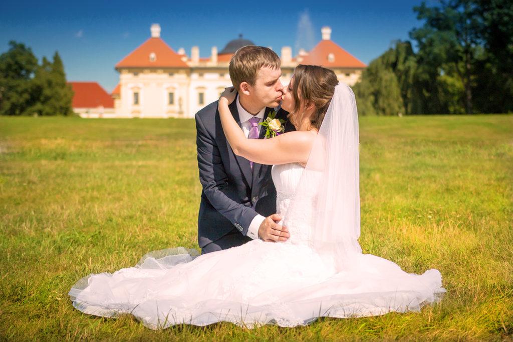 svatební fotograf zámek