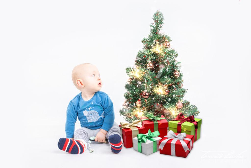 vánoce focení