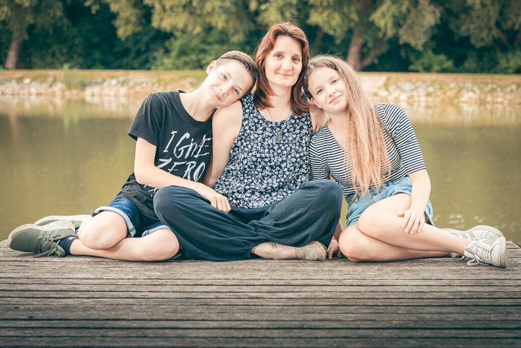 Iva s rodinou - Rodinné foto