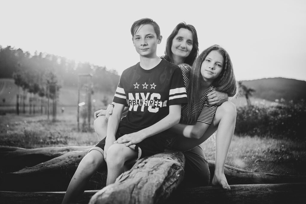 Venkovní rodinné focení
